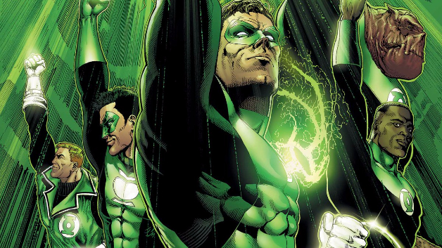 Green Lantern Corps Justice League