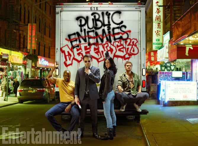 The Defenders Stills Portraits Marvel