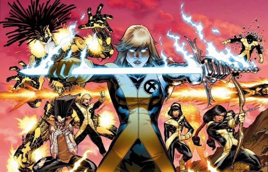 The New Mutants X-Men Marvel Fox