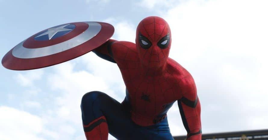 Tom Holland Spider-Man Captain America Civil War
