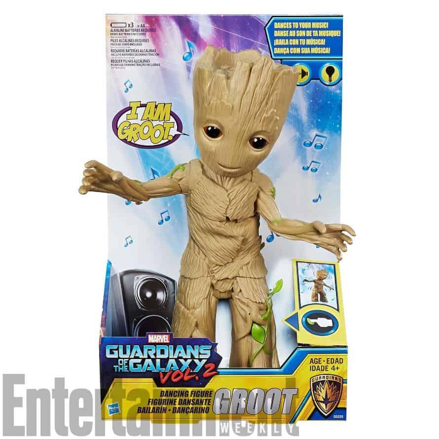 Baby Groot Hasbro Toy Packaging