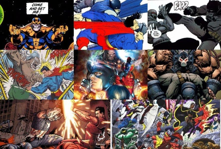 Comic Book Fights