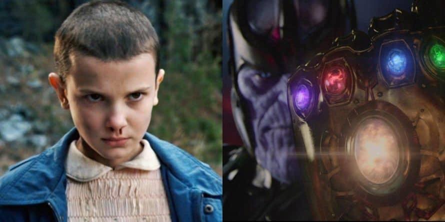 Millie Bobby Brown Stranger Things Avengers Thanos
