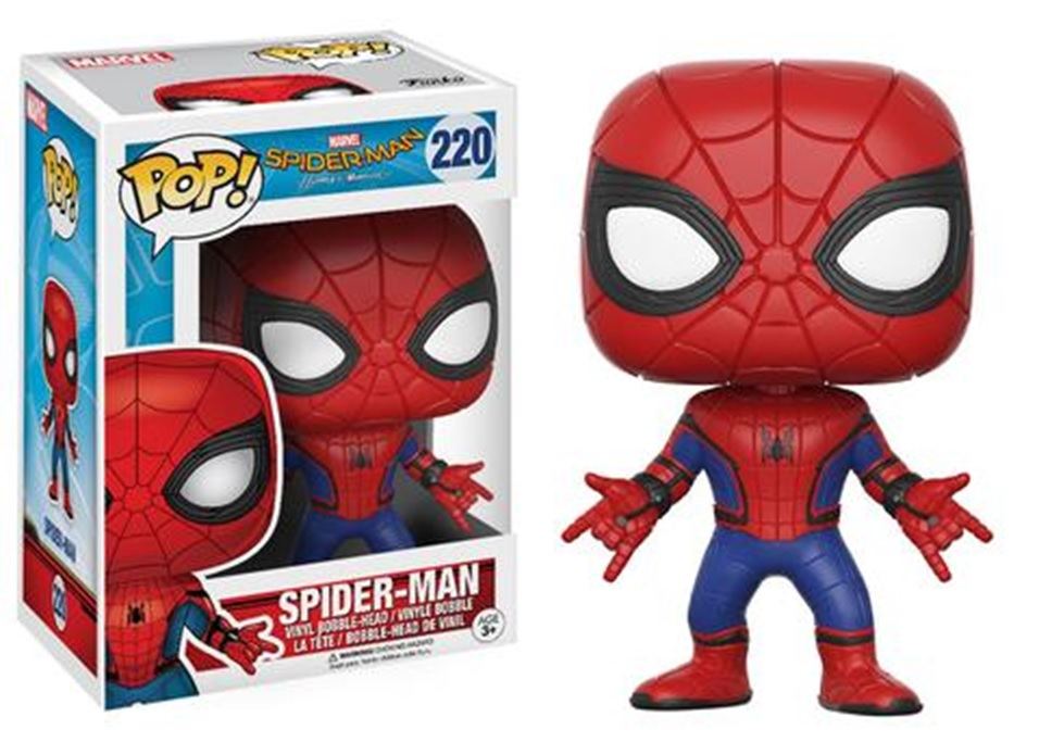 Page 1 Spider Man Homecoming Funko Pop Figures
