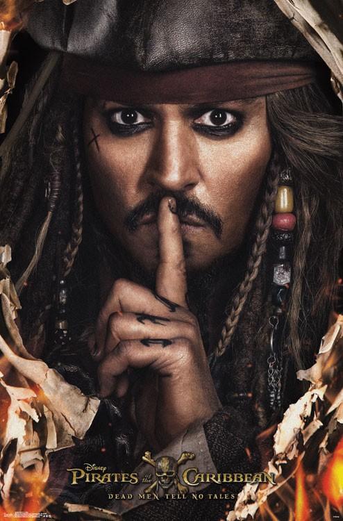 Plakat Piratów z Karaibów: Zemsta Salazara