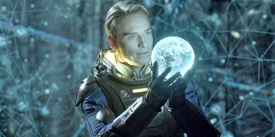 Prometheus Michael Fassbender Alien Covenant