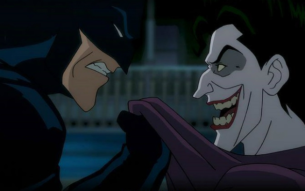 Image result for batman vs joker cartoon