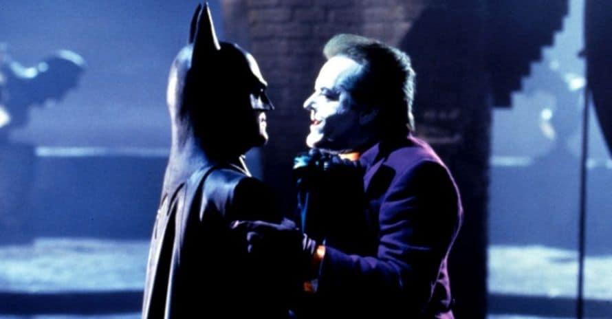 Batman Joker Tim Burton Michael Keaton Jack Nicholson