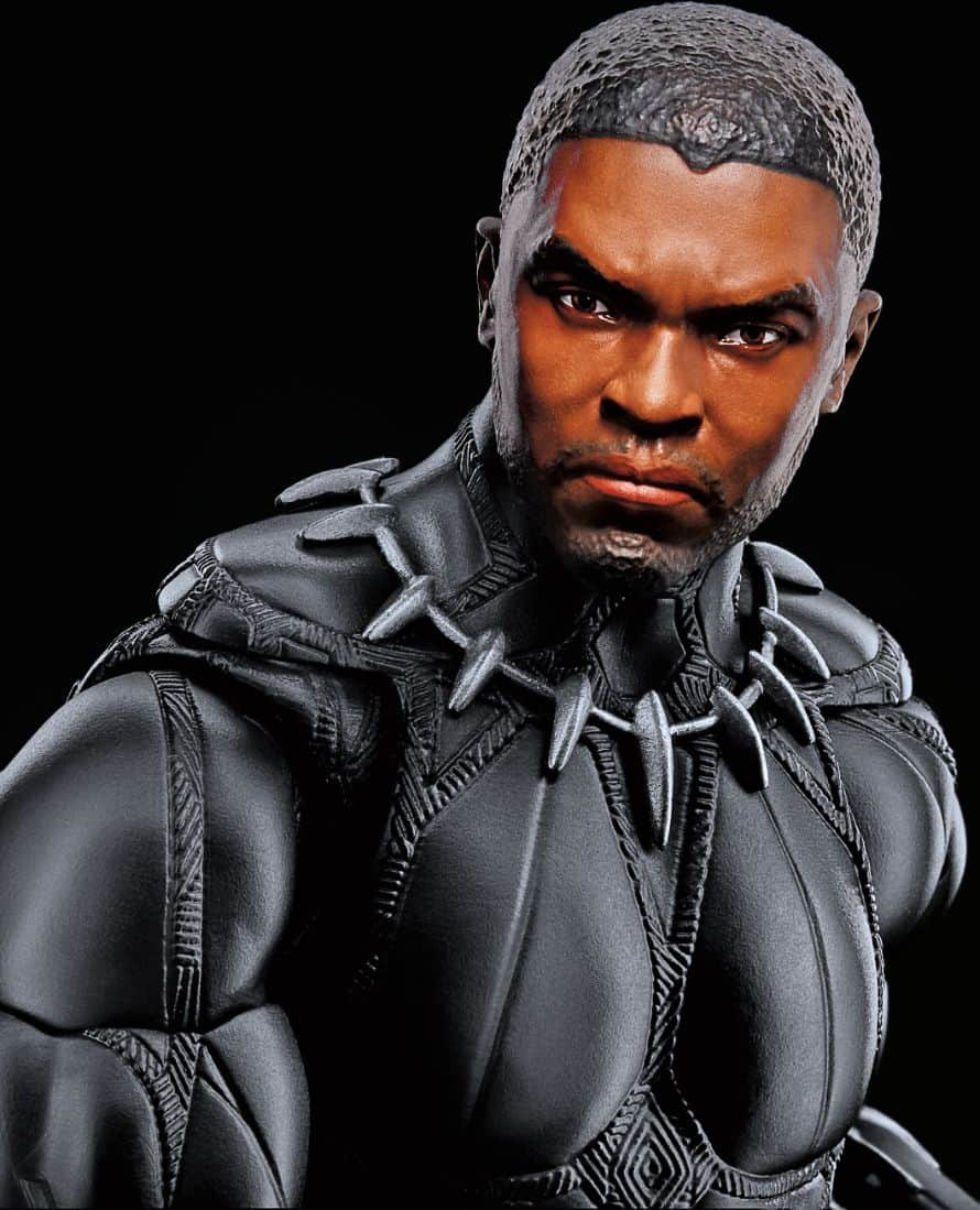 Hasbro Marvel Legends Black Panther No Mask