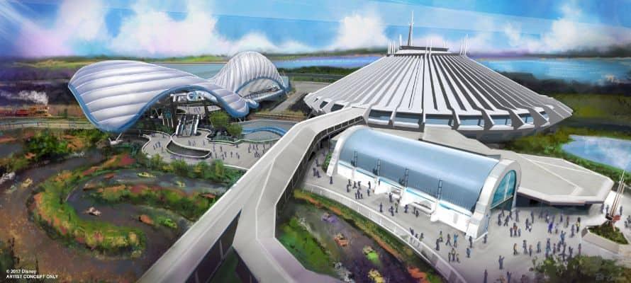 Tron Attraction Walt Disney World Resort