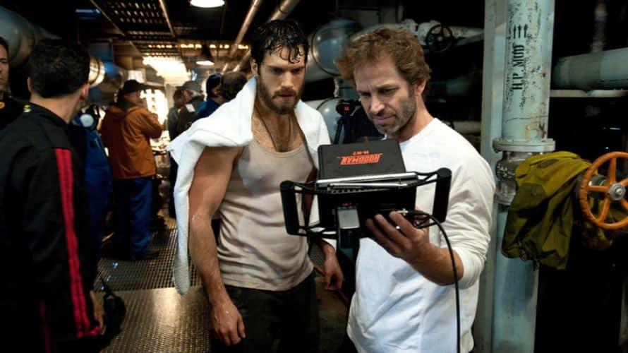 Zack Snyder Man of Steel Set