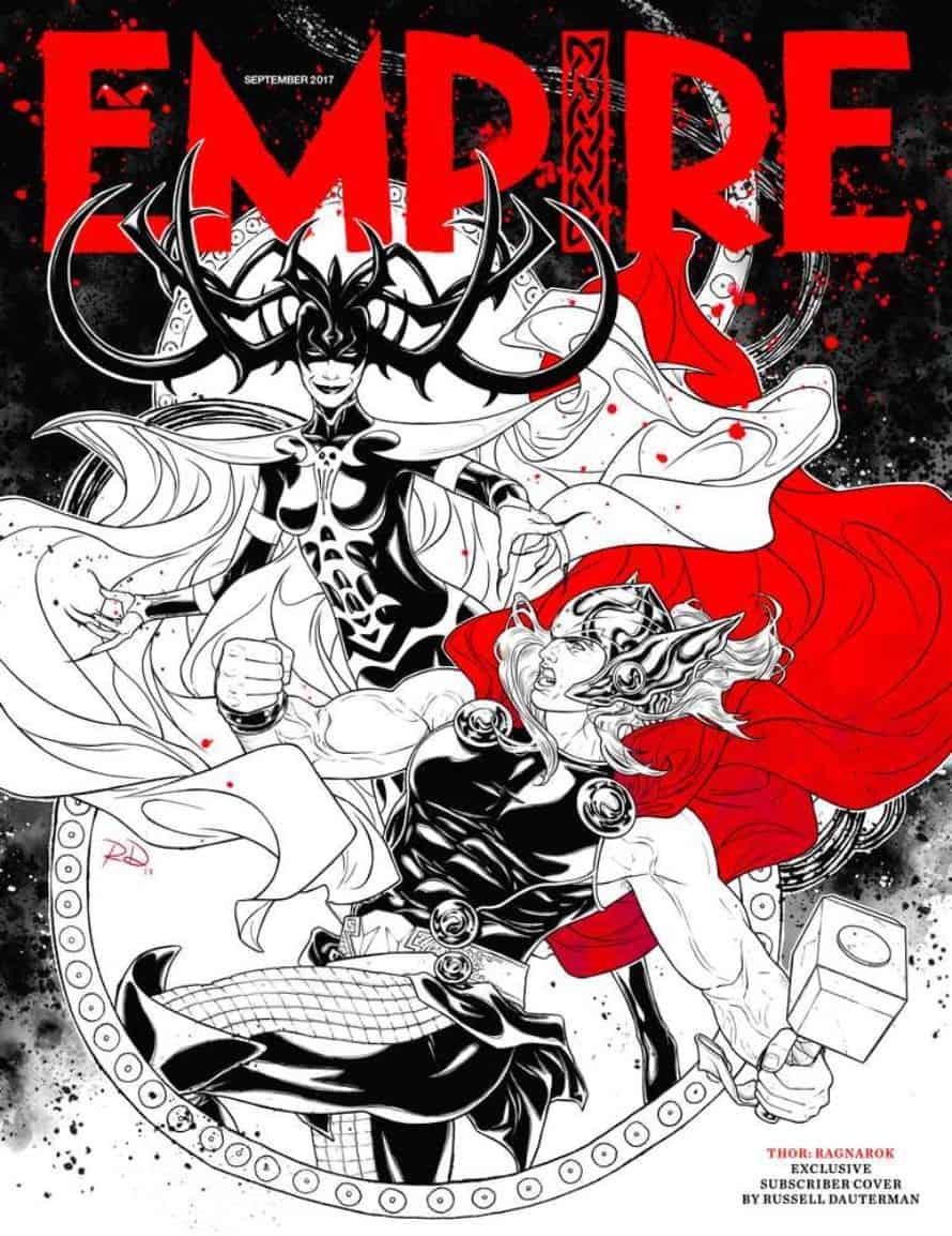 Thor Hela Empire Cover