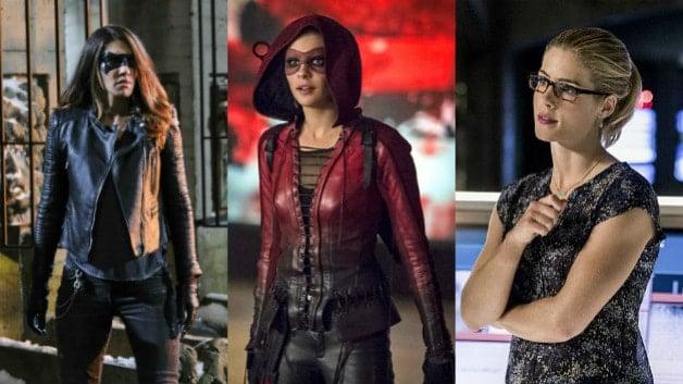 Arrow Willa Holland Speedy Black Canary Felicity