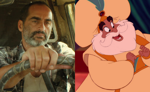 Navid Negahban Disney Aladdin The Sultan