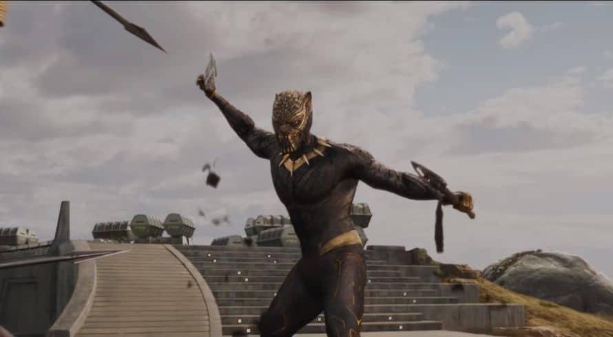 Black Panther Erik Killmonger Vibranium Suit Michael B. Jordan