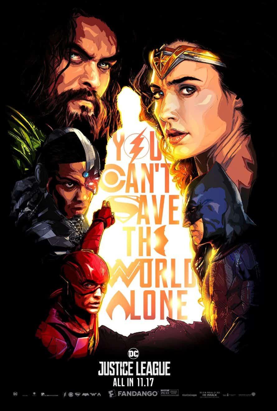 Justice League Fandango Poster