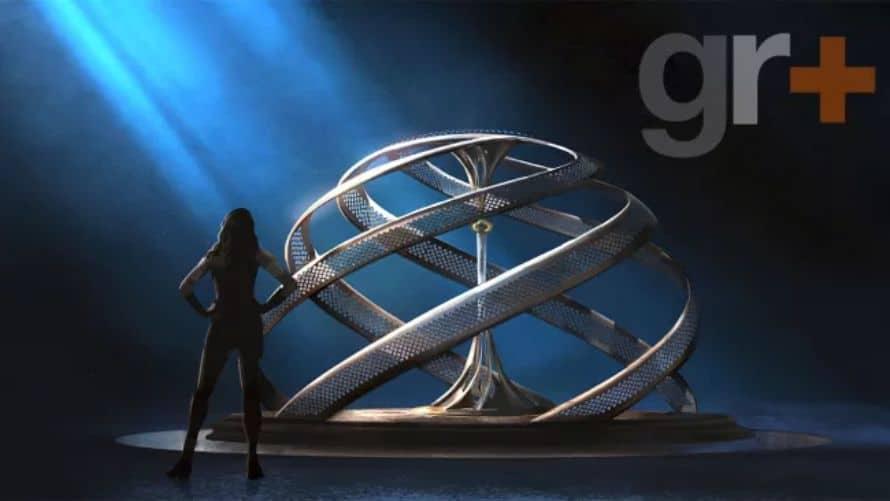 Wonder Woman Gal Gadot Concept Art Sword