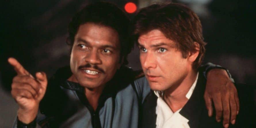 Star Wars Billy Dee Williams Harrison Ford Lando Calrissian Han Solo
