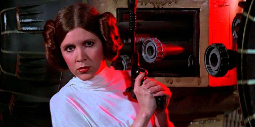 Star Wars Carrie Fisher