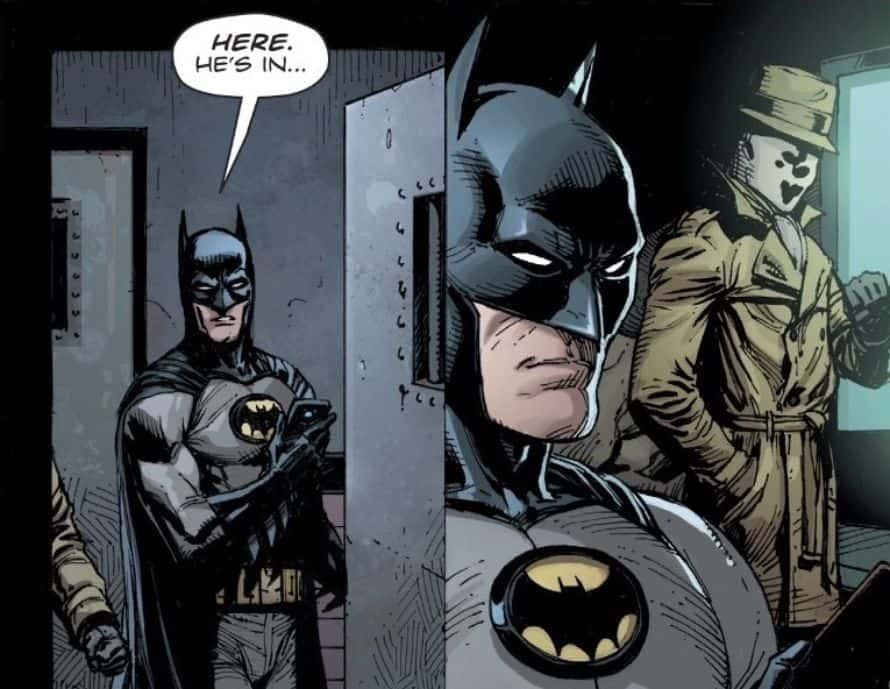 Batman New Costume Doomsday Clock DC Comics