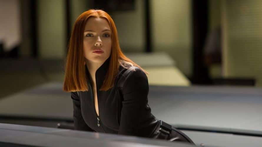 Scarlett Johansson Black Widow Captain America The Winter Soldier Avengers Marvel