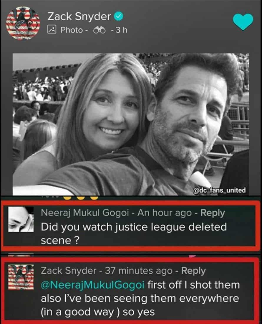 Zack Snyder Justice League Deleted Scenes Reaction