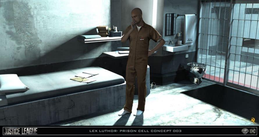 Justice League Lex Luthor Jail Concept Art
