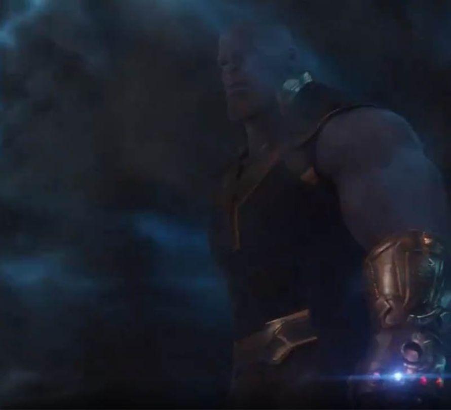 Avengers Infinity War Thanos Gauntlet Infinity Stones