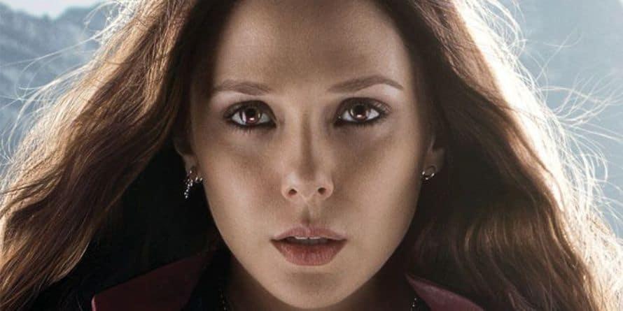 Elizabeth Olsen Avengers Age of Ultron Scarlet Witch Marvel