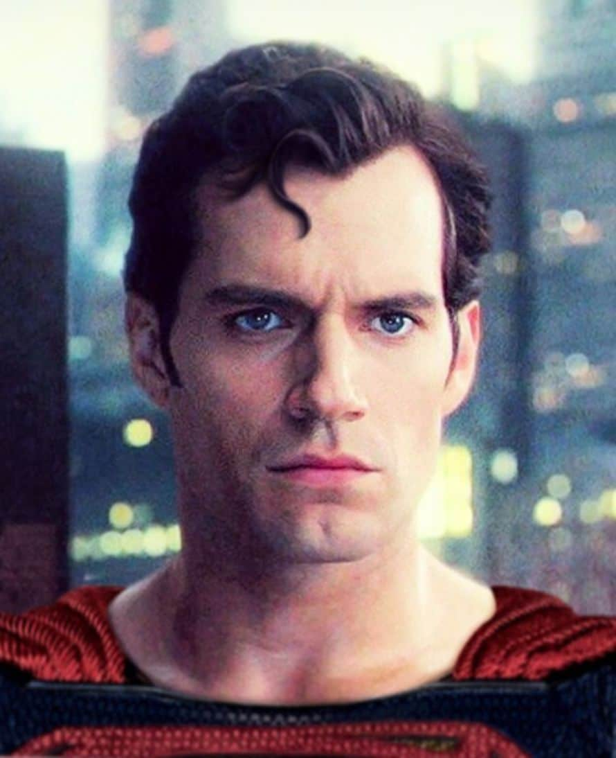 Henry Cavill Superman Justice League Hair Curl Fan Art