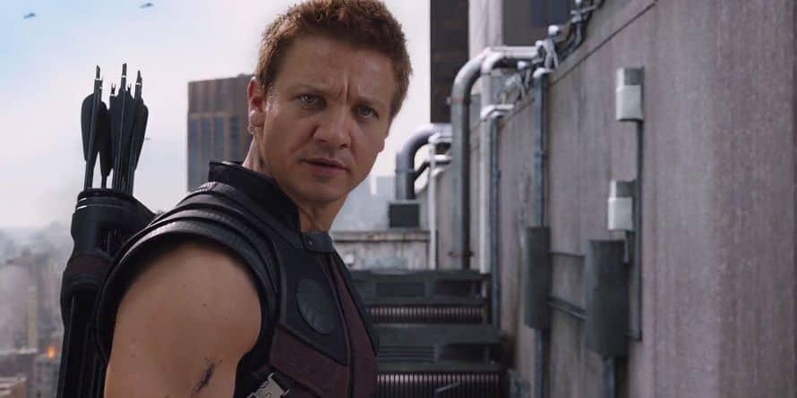Jeremy Renner Hawkeye The Avengers Marvel
