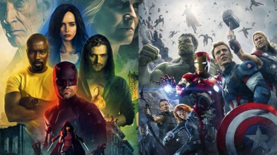 Avengers Marvel Netflix Characters