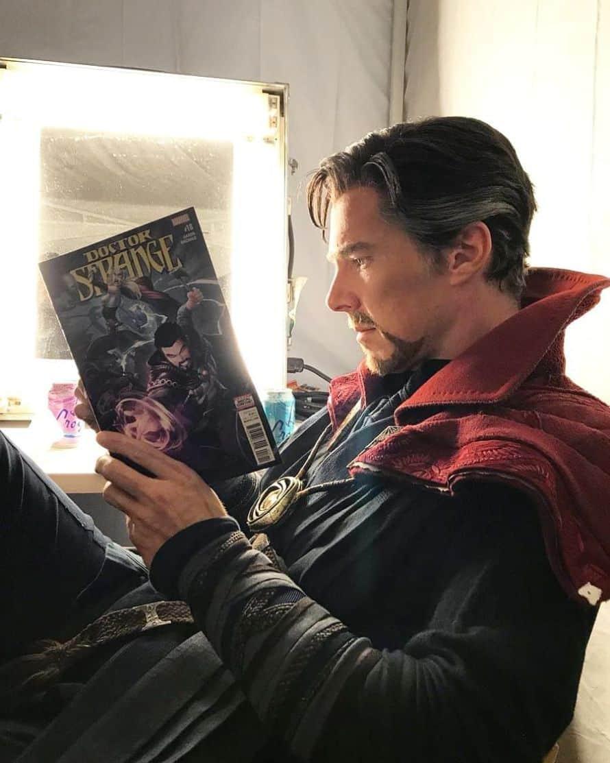 Benedict Cumberbatch Doctor Strange Comics Photo
