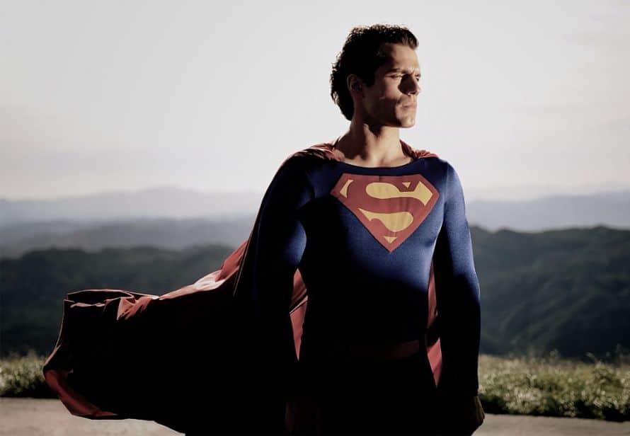 Henry Cavill Christopher Reeve Superman Suit Zack Snyder