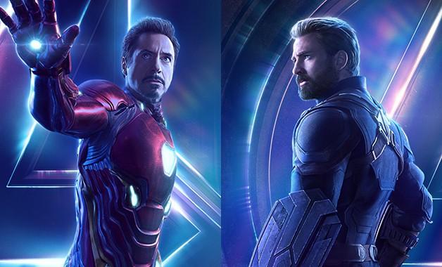 Avengers Infinity War Chris Evans Robert Downey Jr Disney