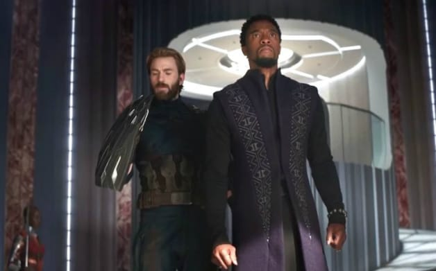 Captain America Black Panther Avengers