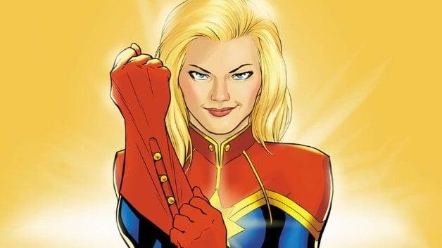 Captain Marvel Captain America