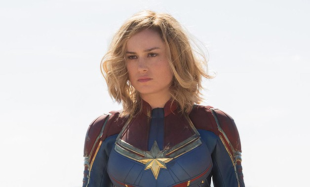 Captain Marvel Brie Larson MCU