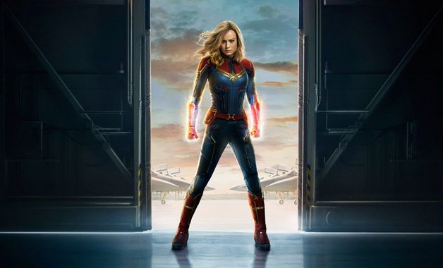 Captain Marvel Brie Larson Poster
