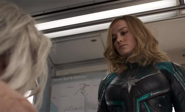 Captain Marvel Brie Larson Skrulls