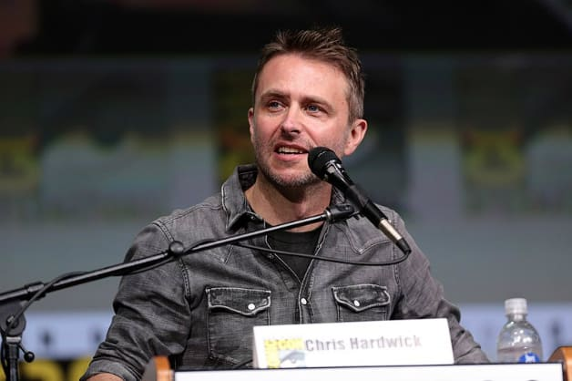 Chris Hardwick The Walking Dead