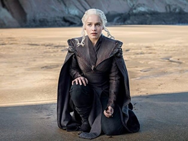 Game of Thrones - Emilia Clarke - Courtesy of HBO