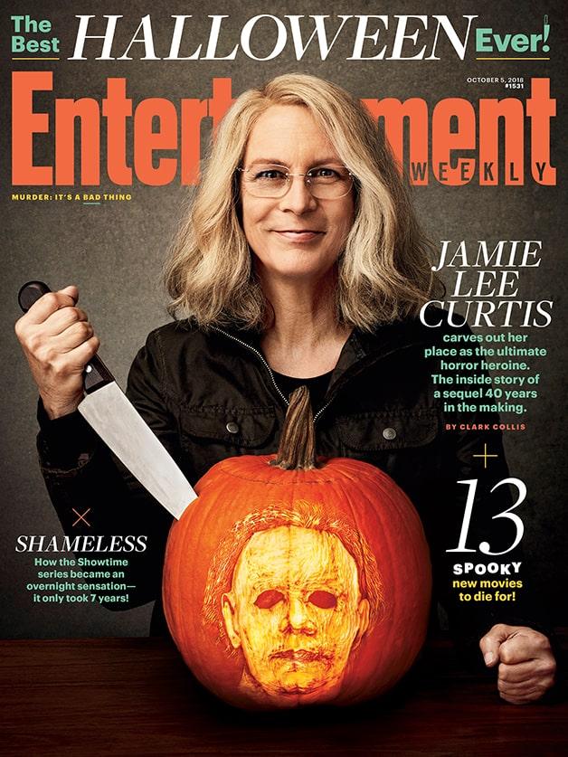 Halloween Jamie Lee Curtis Michael Myers EW