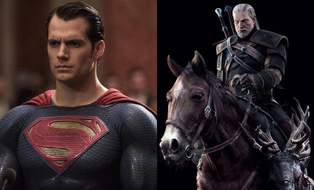 Henry Cavill Netflix The Witcher Superman Roach