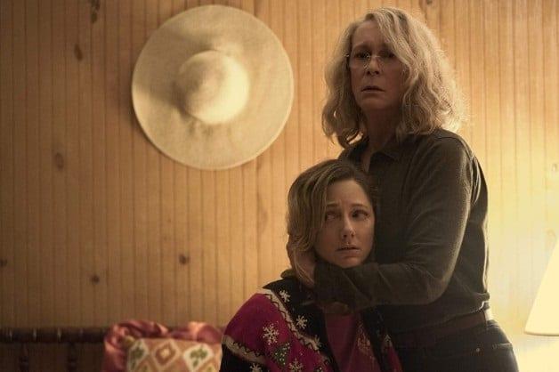 Jason Blum - Halloween 2018 (2)- Jamie Lee Curtis - Judy Greer - Courtesy of Photo by Ryan Green - © Universal Pictures