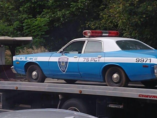 Joker Gotham Police Car