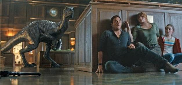 Jurassic World Fallen Kingdom Bryce Dallas Howard Chris Pratt Star Lord