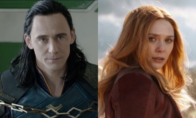 Marvel Disney Plus Scarlet Witch Loki Tom Hiddleston Elizabeth Olsen