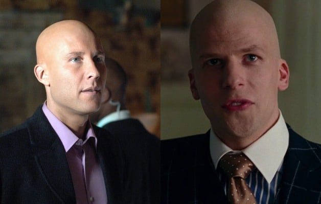 Michael Rosenbaum Lex Luthor Jesse Eisenberg