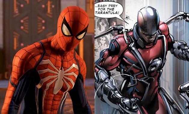 Spider-Man Marvel PS4 Tarantula